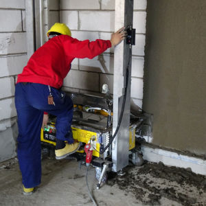 Plastering Machine /Wall Rendering Machine / Cement Mixer Tools pictures & photos