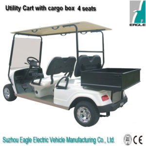 Eg2048h, Cargo Box Pure White UTV Golf Cart Utility Vehicle pictures & photos