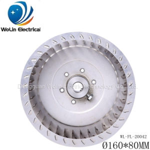 160*80mm SUS Air Cleaner Air Eliminator Fan Impeller