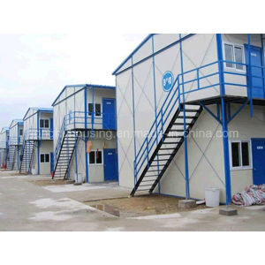 Light Steel Home Two-Storage Prefab Mobile House in China pictures & photos