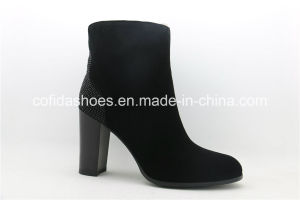 2016 New Style High Heel Sheepskin Boots for Elegant Ladies pictures & photos