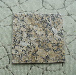 Giallo Granite Tiles High Polished Gold Granite Tiles pictures & photos