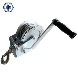 2000lbs Hand Winch Zinc Plated with Strap pictures & photos