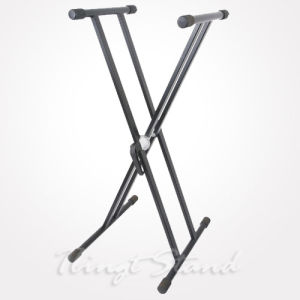 "Double ""X"" Style Keyboard Stand (TKB106) pictures & photos"