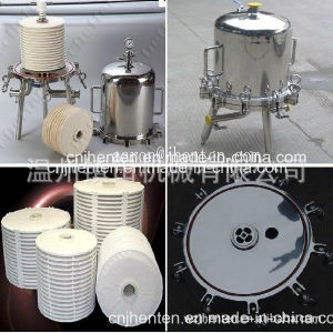 Stainless Steel Lenticular Filter Housing for Wine\Enzyme Solutions\Liquor Gelatine\Olive Oil pictures & photos