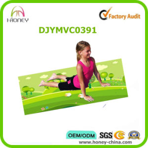 Soft and Colorful Printed Yoga Mat for Kids, Body Protect Mat pictures & photos