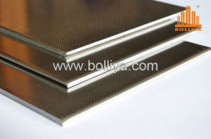 Exterior Interior Wall Fr Fire Rated Retardant 304 316 220m Mirror Hairline Brushed 3mm 4mm Stainless Steel Honeycomb Composite Panel for Facade Cladding pictures & photos
