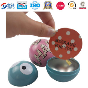Football Shaped Metal Tin Toy for Kids Gift pictures & photos