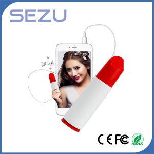 Unique Lipstick 2600mAh Portable Power Bank pictures & photos