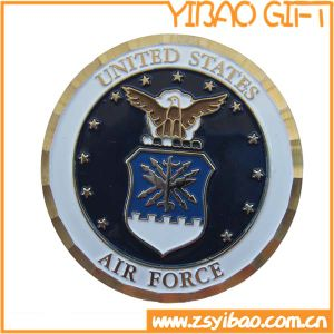 Matal Air Force Coin with Swirl Edge (YB-c-036) pictures & photos