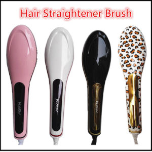 2016 Professional Hair Straightener Brush pictures & photos