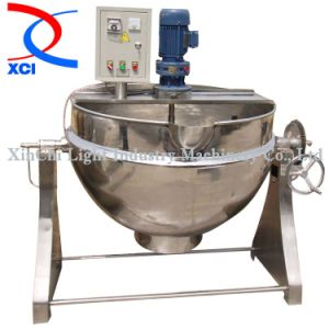 Stainless Steel Electric Heatting Jacketed Kettle