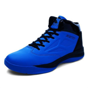 Sports Basketball Shoes Lace up Breathable Footwear for Men (AKQBTY031) pictures & photos