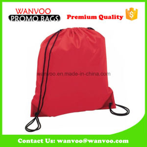 Promotional Drawstring Sport Tote School Backpack for Teenagers pictures & photos