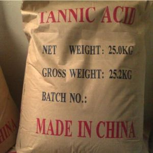 High Quality Tannic Acid 1401-55-4 with Good Price pictures & photos
