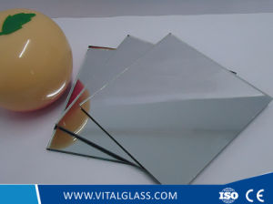 Clear/Purple/Brown Aluminum Mirror Glass pictures & photos