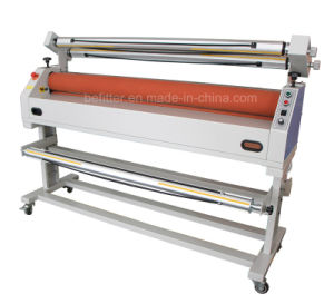 "1600mm 63"" Semi-Auto Cold Mounting Laminator Machine Btf1600 Cj pictures & photos"