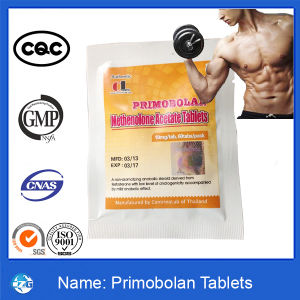 99% Purity Bodybuilding Methenolone Acetate Steroids Tablets Primobolan pictures & photos