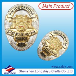Dual Plating Military Lapel Pin Army Badge (LZY-20130904) pictures & photos