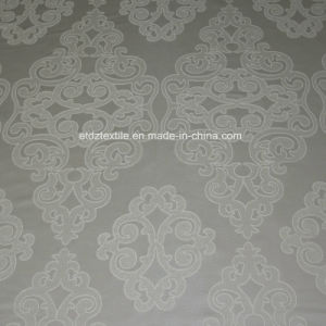 Jacquard Flower Pattern Embroidery Like Curtain Fabric pictures & photos