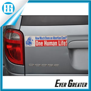 Rectangle Custom Bumper Sticker with Your Logo pictures & photos