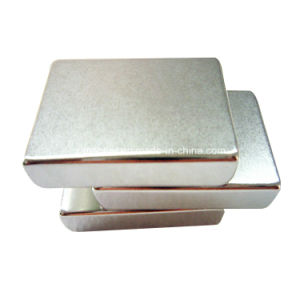 L46x30x10mm N40 Grade Strong Pull Force Permanent Magnet pictures & photos