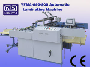 Hot Press Automatic Lamination Machine Yfma-650/800 with Ce Certificate pictures & photos