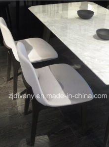 Modern White Fabric Dining Chair Leather Chair (C-50) pictures & photos
