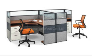 Modern Standard Sizes Office Modular Workstation for 2 Person (HF-CA002) pictures & photos