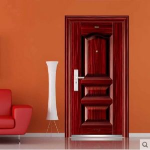 Germany Brand Hardware Solid Wood Door American Style pictures & photos