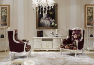 Classical Wooden Bedroom Furniture Leisure Chair pictures & photos