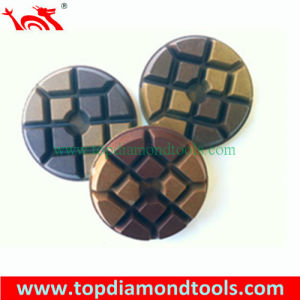 Metal and Resin Bond Diamond Polishing Pad for Grinding Concrete Floor pictures & photos