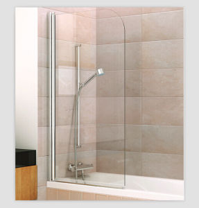 Bathtub Axis Pivot Single Bath Shower Door/Screen pictures & photos