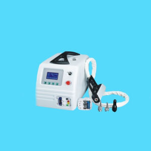Portable Q-Swich ND YAG Laser Machine Tattoo Freckle Removal Laser Machine