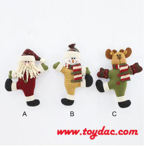 Plush Christmas Animal Key Ring pictures & photos