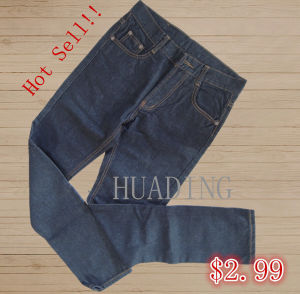New Fashion Hot Sell Men′s Deninm Jeans (HDMJ0065) pictures & photos