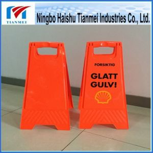 Orange Floor Sign for Sale, Notice Sign pictures & photos