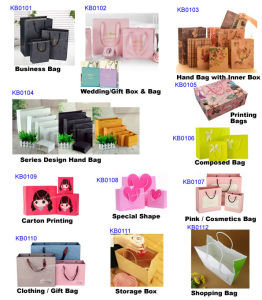 2015 Hot Sale Professional Custom Paper Shopping Bag pictures & photos