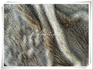 Jacquard Long Pile Artificial Faux Fur for Garment pictures & photos