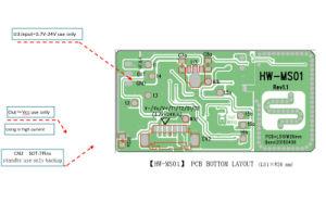 Single Board 24V ~ 60VDC Microwave Sensor Board Detection Module pictures & photos