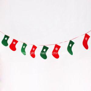 Die-Cut Christmas Sock Hanging Felt Decorations Ornament pictures & photos