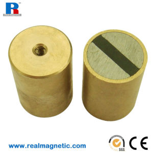 NdFeB Pot Magnet with Machine Shell