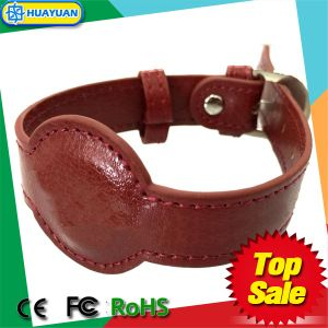 Latest design RFID PASSIVE NFC NTAG213 Fashion Leather Bracelet pictures & photos