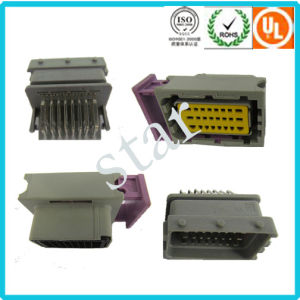 Factory Supply 24 Pin ECU Grey Black Connector DJ7242-1.5/2.8-21/11 pictures & photos