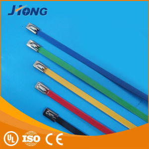 Powder Coated Stainless Steel Cable Ties pictures & photos
