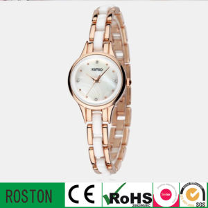 Fashion Quartz Lady Watch with Leather Band pictures & photos