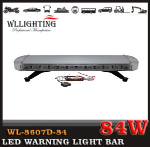 Aluminum Housing Warning Police Long Lightbar with Lightning LED pictures & photos