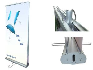 Aluminum Double Sides Roll-up Banner Stand pictures & photos