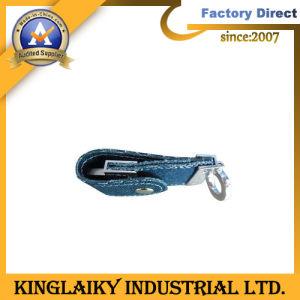 Promotional Denim USB Flash Memory with Logo Printing (KU-007U) pictures & photos