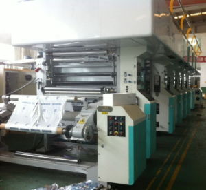 Rotogravure Printing Machine with Max. Printing Speed of 150m/Min for Breathable PE of Diapers Specially pictures & photos